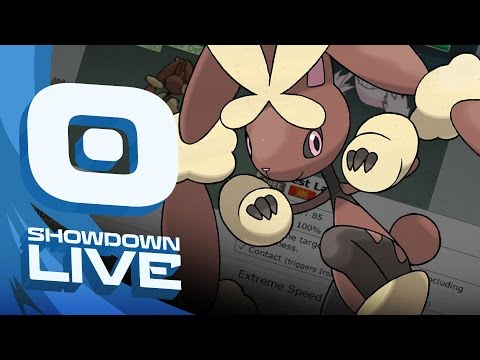 """CONTRARY MEGA LOPUNNY"" Pokemon Sun & Moon! Balanced Hackmons Showdown Live w/PokeaimMD & Moet!"