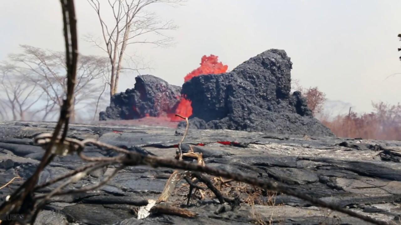 Kīlauea Volcano — Canvassing the Flows