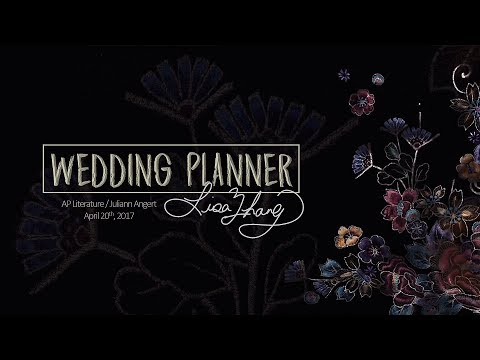 senior project wedding planner ppt presentation youtube