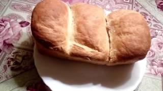 японский белый заварной молочный хлеб