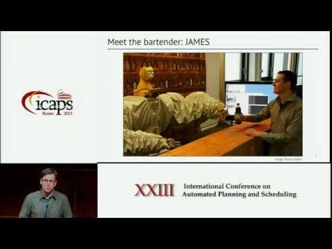 ICAPS 2013: Ronald P A Petrick (Novel Applications Track, Best Paper) - Planning for Social ...