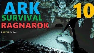 [10] EXPLORING THE SECRET CAVE (ARK Survival Evolved Ragnarok)