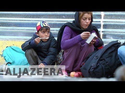 Desperate journeys: Afghan refugee children suffer from malnutrition