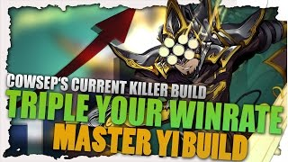 Triple Your Winrate Master Yi Build