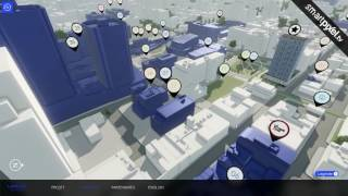 Rachel Julien - Laurent & Clark - In-app - Touchscreen software for real estate in 3D realtime
