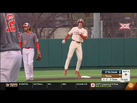UT Rio Grande Valley vs Texas Baseball Highlights
