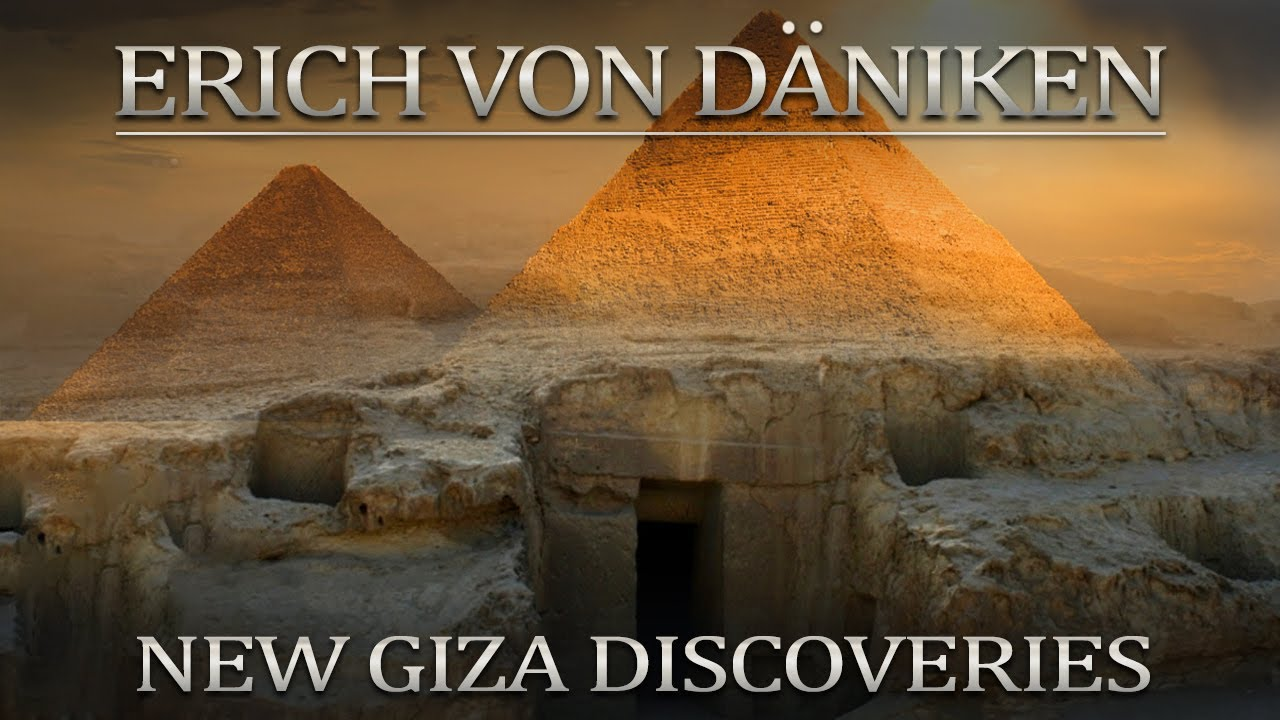Erich von Daniken on New Shafts and Rooms In The Great Pyramid of Giza 2