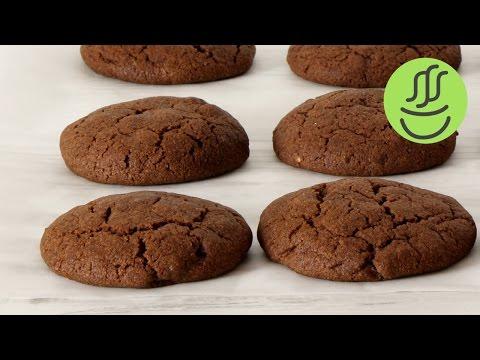 Kakaolu Kurabiye - Damla Çikolatalı Kakaolu Kurabiye Tarifi - Çikolatalı Kurabiye