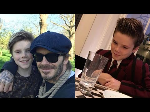 David Beckham & Victoria Beckham's Son   2018 Cruz Beckham