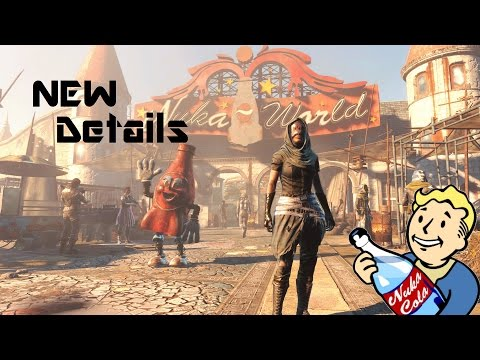 Fallout 4 Nuka World DLC: New Map + Capture and Attack Settlements: Nuka World DLC New Info