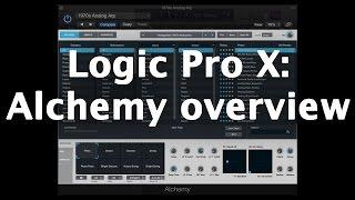 Logic Pro X: Alchemy overview