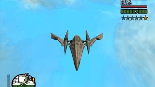 GTA San Andreas Arwing Mod