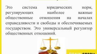 7.1.1  Понятие права