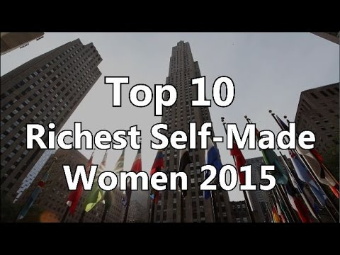 Top 10 - Richest Self-Made Women 2015
