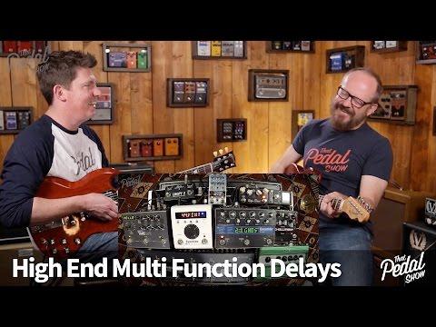 That Pedal Show – Mega Delays Part 1: DL4, TimeFactor, TimeLine, H9, Tonal Recall & Echolution