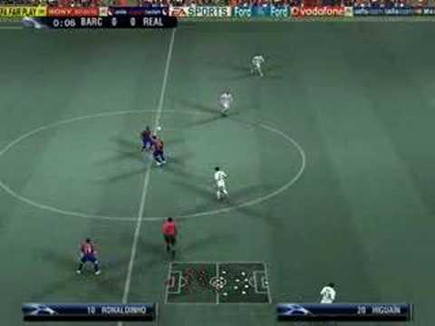 UEFA Champions League 2006-2007 Gameplay