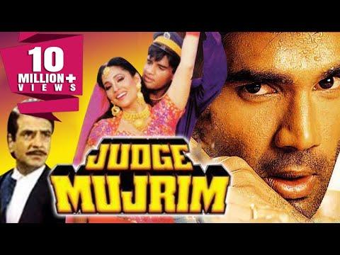 Judge Mujrim (1997) Full Hindi Movie   Sunil Shetty, Jeetendra, Ashwini Bhave