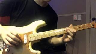 Led Zeppelin- The girl I love she got long black wavy hair (Guitar Solo Cover)