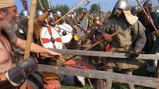 Wolin Festival (Slavs & Vikings) 2018 - Bitwa, Battle, Part 2