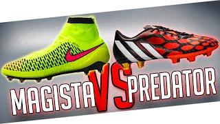 Ultimate adidas Predator vs. Nike Magista - Test & Review I freekickerz