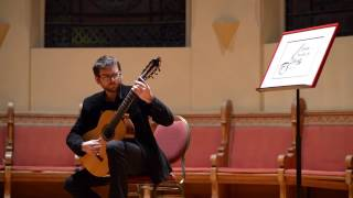 """José Antonio Escobar plays Fernando Sor: """"Fantasia Op. 30"""""""