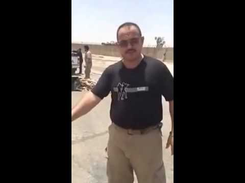 Member of the Iraqi Forces says US airdropped weapons & aid to ISIS inside Baiji oil refinery