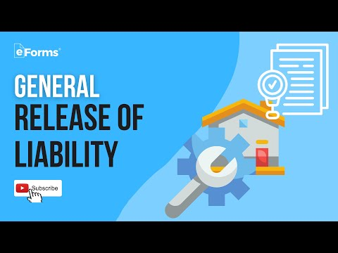 General Release Of Liability - EXPLAINED