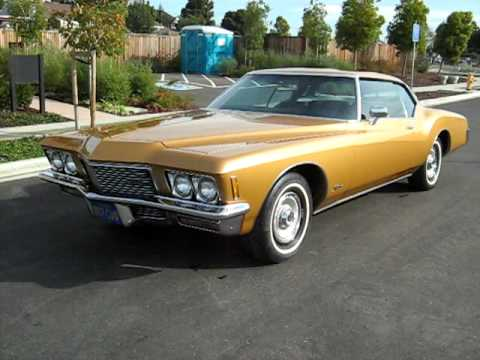 1971 gold buick riviera for sale export only youtube. Black Bedroom Furniture Sets. Home Design Ideas