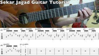 Tohpati - Sekar Jagad Guitar Tutorial