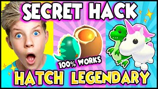 This SECRET HACK Gets You A LEGENDARY PET in Adopt Me!! How To HATCH LEGENDARY in Adopt Me! PREZLEY