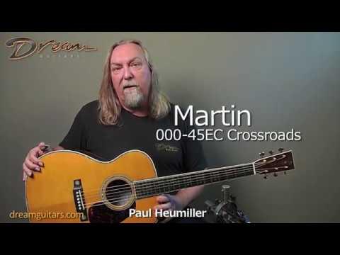 Martin 000-45EC Crossroads Madagascar Rosewood & Adirondack Spruce