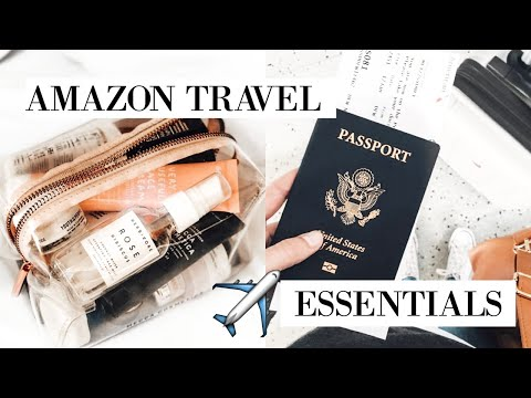 TOP AMAZON TRAVEL ESSENTIALS + MUST HAVES 2019 | Katie Critchley