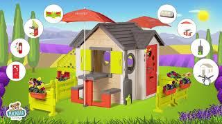 Domček prírodný My New House Smoby