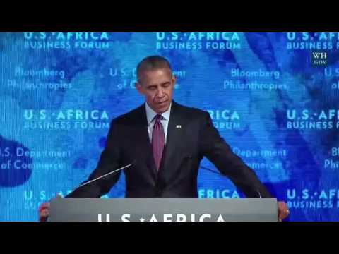 President Obama U.S.-Africa Business Forum FULL Speech 9/21/16