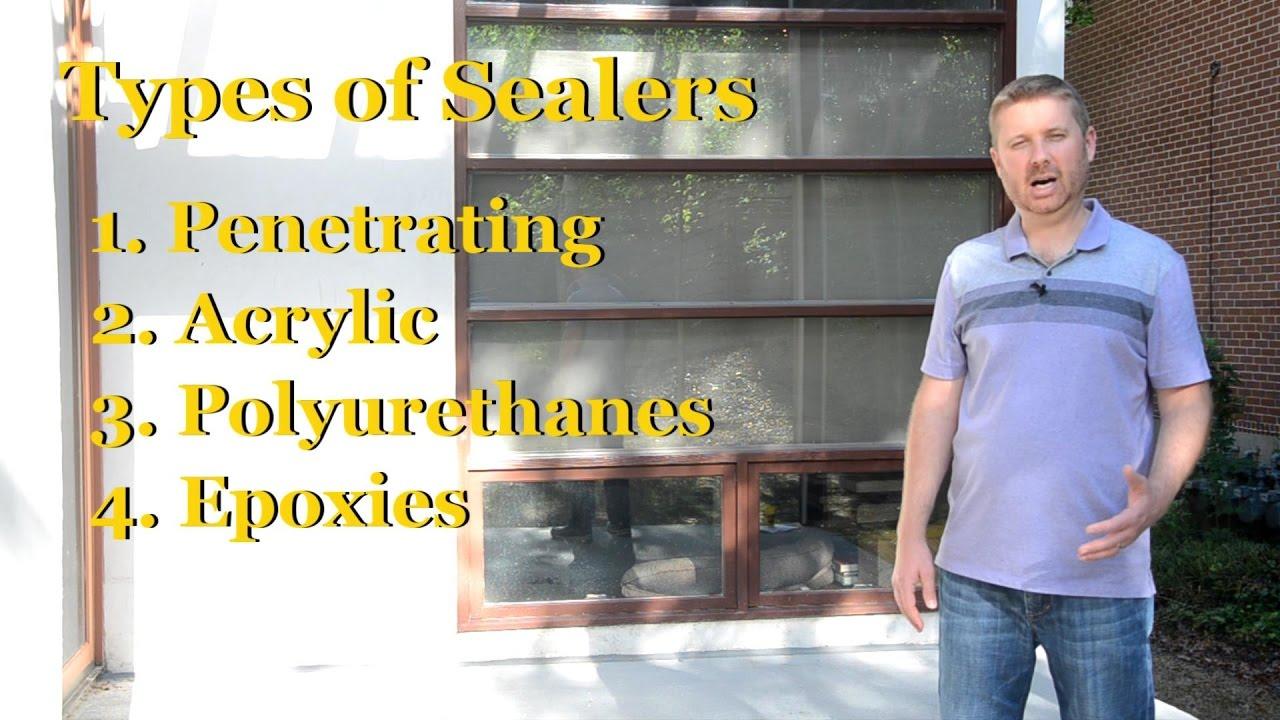 Choosing a Concrete Sealer | Part 2 – Sealing Concrete