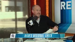 Rich Eisen Opens Residual Checks with Actor Rex Linn | The Rich Eisen Show | 1/22/20