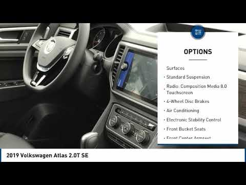 2019 Volkswagen Atlas 2019 Volkswagen Atlas 2.0T SE FOR SALE in Corona, CA V9096