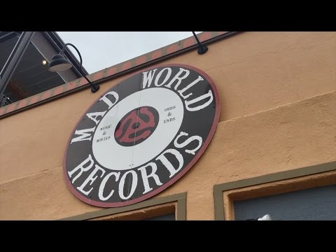 Record hunting at Mad World Records