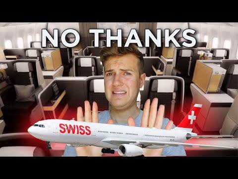 Swiss A330 Business