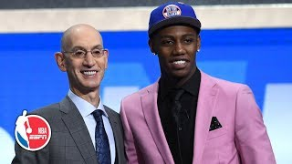 RJ Barrett drafted No. 3 by the Knicks, savors moment with father Rowan | 2019 NBA Draft