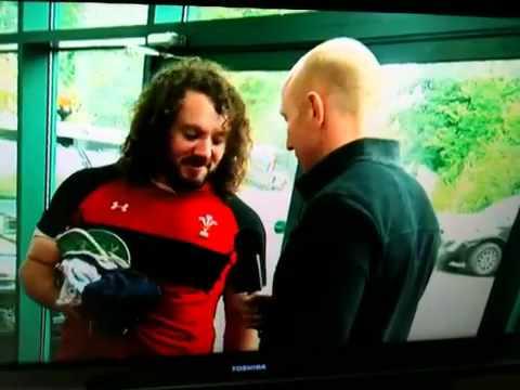 Shanklin  with Wales RU