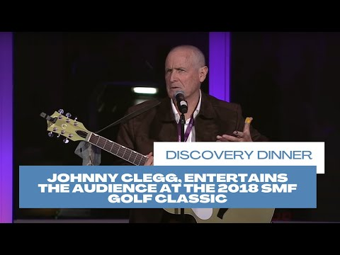 Johnny Clegg, Entertains The Audience at The 2018 SMF Golf Classic