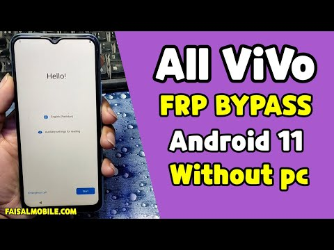 All Vivo Android 11 Frp Bypass Without Pc 100% Done Very Easy