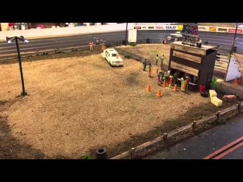 SoCal Speedway slot car oval track