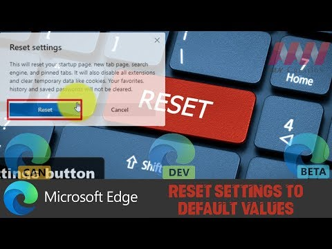 How to Reset Settings to Default Values on Chromium Version of Microsoft...
