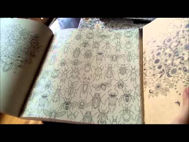 Tren Tay Coloring Book Khu Vuon Bi Mat Secret Garden
