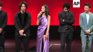 Video Tadanobu Asano, Oguri Shun and Jerry Yan attend the premiere of  'Lupin III' download MP3, 3GP, MP4, WEBM, AVI, FLV Juli 2018