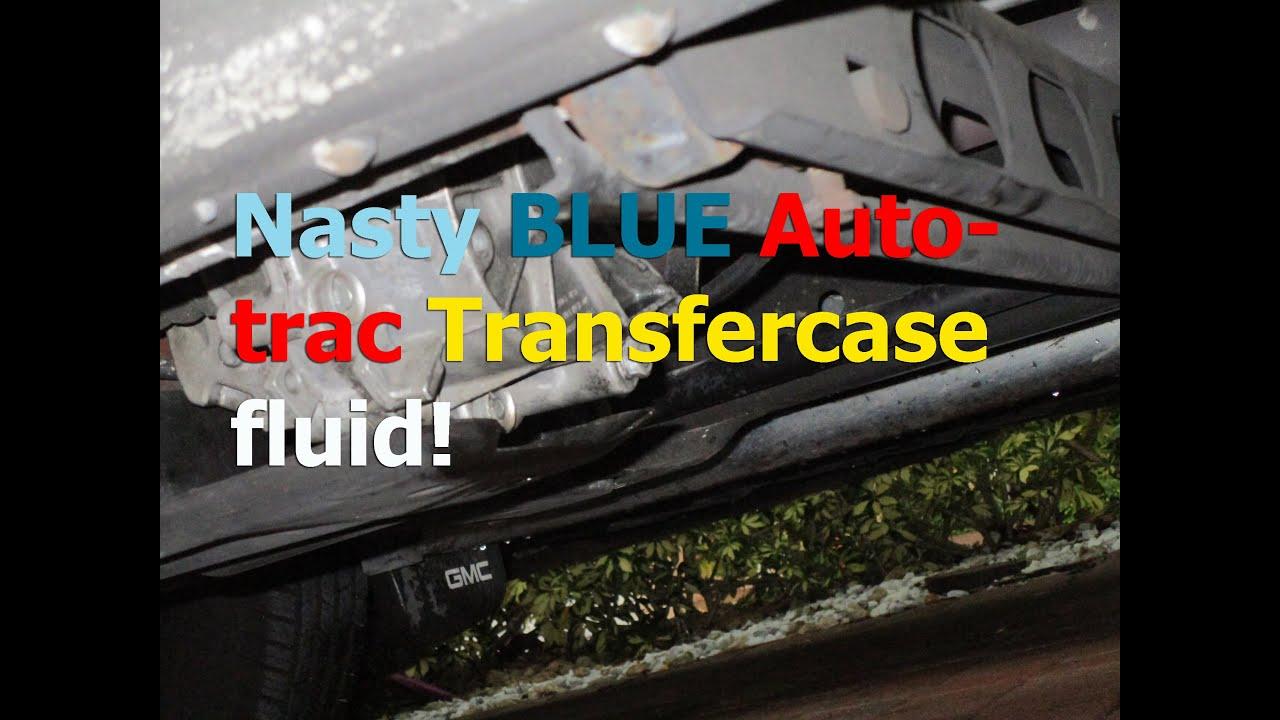 2006 gmc sierra transfer case fluid
