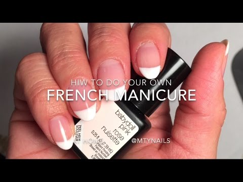 Sensationail French Manicure Youtube
