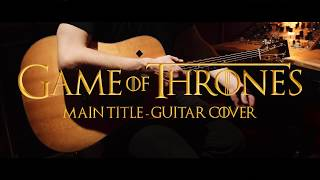 Game of Thrones - Main Title Theme | Gitarren Cover